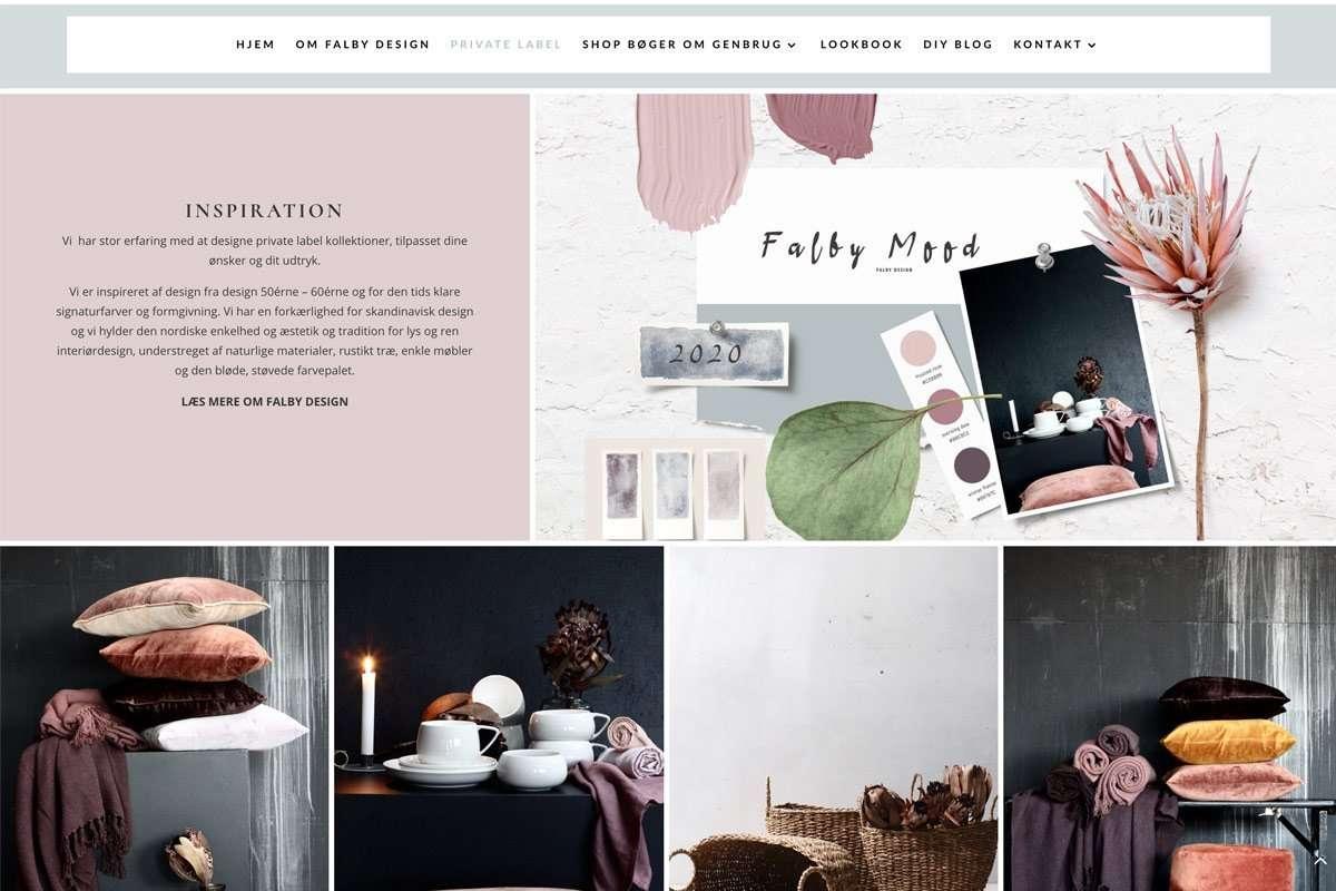 redesign af hjemmeside