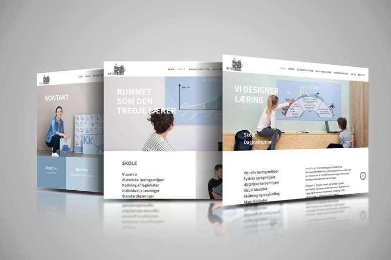 Webdesign - Hjemmeside design - MuteDesign