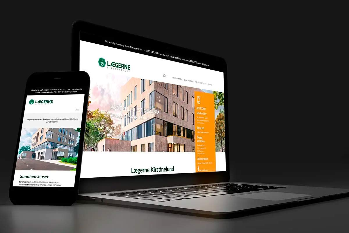 laegerne onepager